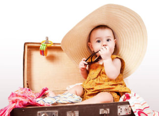 Viaggiare con un neonato
