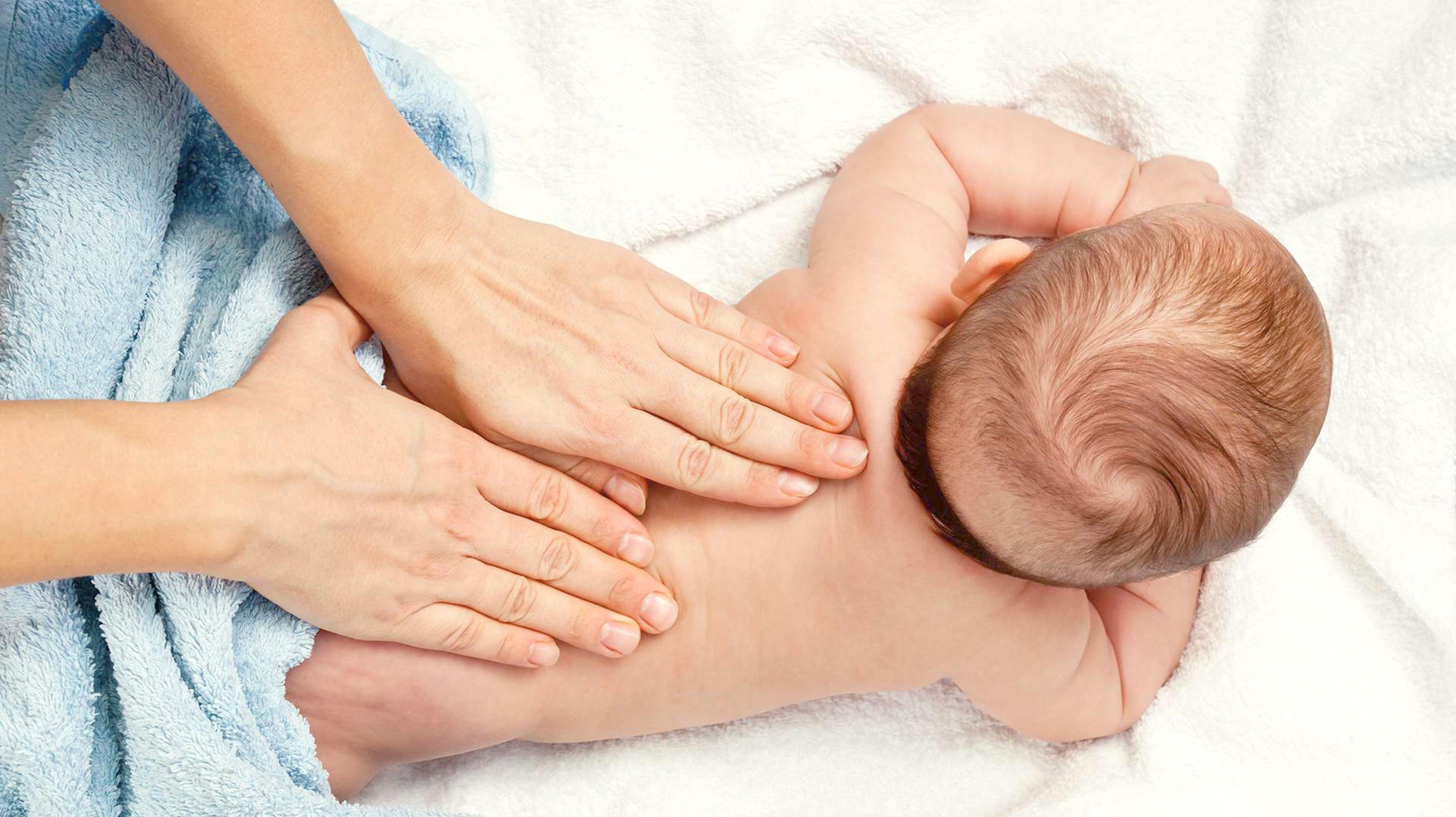 Massaggio neonato - Blog Origami